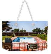 Motel Pool 3 Weekender Tote Bag