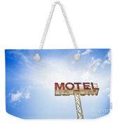 Motel Sign Weekender Tote Bag