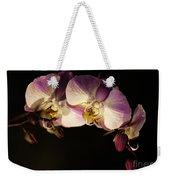Moth Orchids Weekender Tote Bag