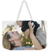 Mother And Baby Weekender Tote Bag