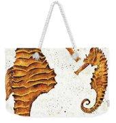 Mother And Baby Seahorse Weekender Tote Bag