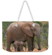 Mother And Calf Weekender Tote Bag