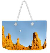 Mother And Child And Moon 21 Weekender Tote Bag