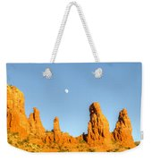 Mother And Child And Moon 25 Weekender Tote Bag