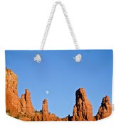 Mother And Child And Moon Weekender Tote Bag