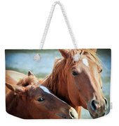 Mother And Filly Weekender Tote Bag
