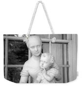 Mother And Child Statue Weekender Tote Bag