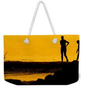 Mother And Daughter Time Weekender Tote Bag
