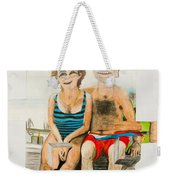 Mother And Father Weekender Tote Bag
