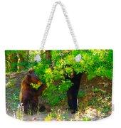 Mother Bear And Cub Weekender Tote Bag