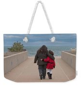 Mother Daughter Moment Weekender Tote Bag