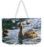 Mother Duck Weekender Tote Bag