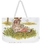 Mother Goose, 1881 Weekender Tote Bag