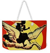 Mother Goose Weekender Tote Bag by Bill Cannon