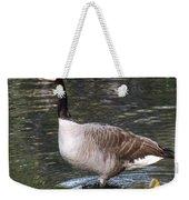 Mother Goose Is Watching Weekender Tote Bag