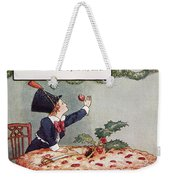 Mother Goose: Jack Horner Weekender Tote Bag
