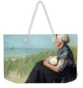 Mother In The Dunes Weekender Tote Bag