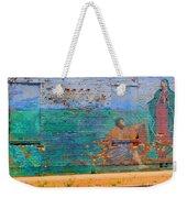 City Mural - Mother Mary Weekender Tote Bag