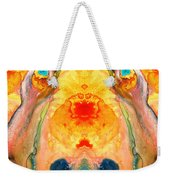 Mother Nature - Abstract Goddess Art By Sharon Cummings Weekender Tote Bag