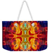 Mother Of Eternity Abstract Living Artwork Weekender Tote Bag