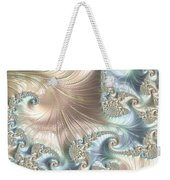 Mother Of Pearl - A Fractal Abstract Weekender Tote Bag