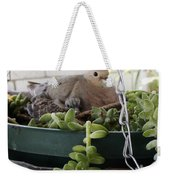 Mother With Baby Mourning Dove Weekender Tote Bag