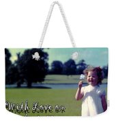 Mother's Day 1964 Weekender Tote Bag
