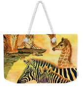 Mother's Day In The Wild Kingdom Weekender Tote Bag