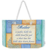 Mother's Day Spa Weekender Tote Bag by Debbie DeWitt