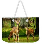 Mother's Protection Weekender Tote Bag