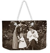 Mothers With Children Weekender Tote Bag