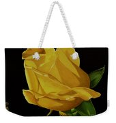 Mother's Yellow Rose Weekender Tote Bag by Cory Still