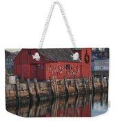 Motifs Long Reflection Weekender Tote Bag