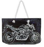 Moto Art 41 Weekender Tote Bag