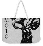 Moto Man Weekender Tote Bag
