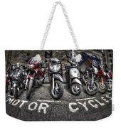 Motor Cycles Weekender Tote Bag