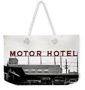 Motor Hotel Weekender Tote Bag