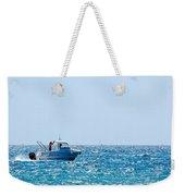 Motorboat Weekender Tote Bag