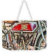 Motorcycle - 1914 Excelsior Auto Cycle Weekender Tote Bag