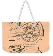 Motorcycle Patent 1925 Weekender Tote Bag