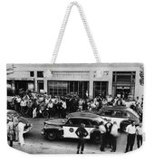 Motorcycle Rally Hollister California July 4, 1947 Weekender Tote Bag