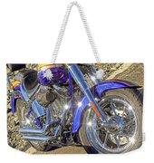 Motorcycle Without Blue Frame Weekender Tote Bag