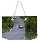 Motorcycles And Bicycles Weekender Tote Bag