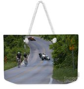 Motorcycles And Bicycles Weekender Tote Bag