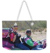 Motorcyclists Helldorado Days Parade Tombstone Arizona 2004 Weekender Tote Bag