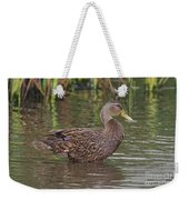 Mottled Duck Drake Weekender Tote Bag