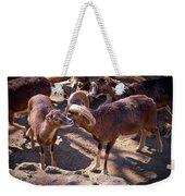 Mouflon Weekender Tote Bag