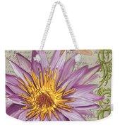 Moulin Floral 1 Weekender Tote Bag by Debbie DeWitt