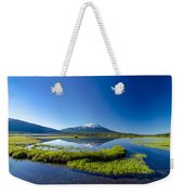 Mount Bachelor And Sparks Lake Weekender Tote Bag