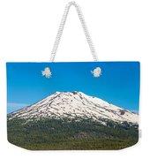 Mount Bachelor Closeup Weekender Tote Bag